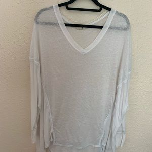 Free People thin long sleeve flowy top